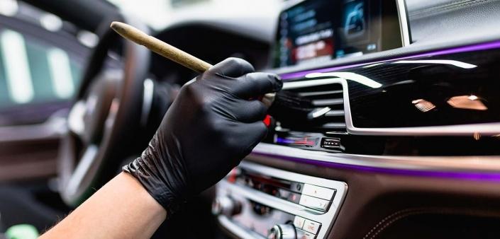 Limpieza interior vehículos