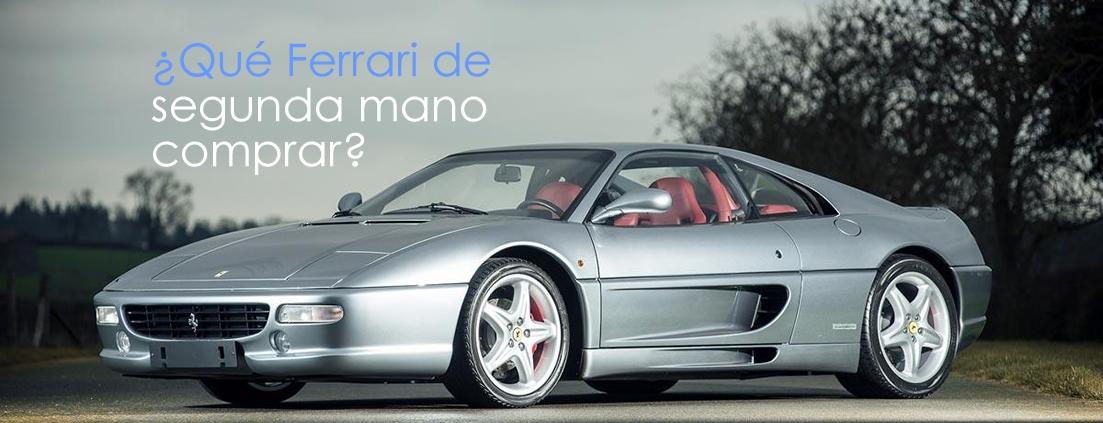 Ferraris de segunda mano