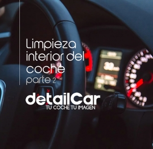 limpieza interior de vehículos