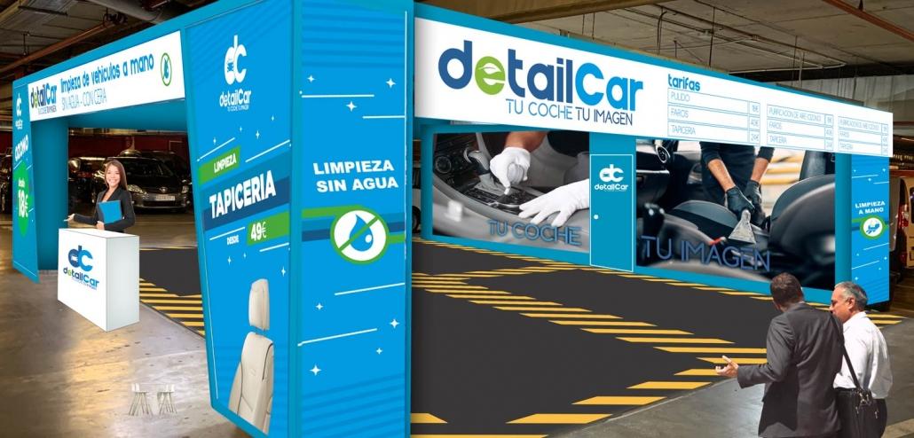nueva imagen centro interior detailcar limpieza vehiculos sin agua